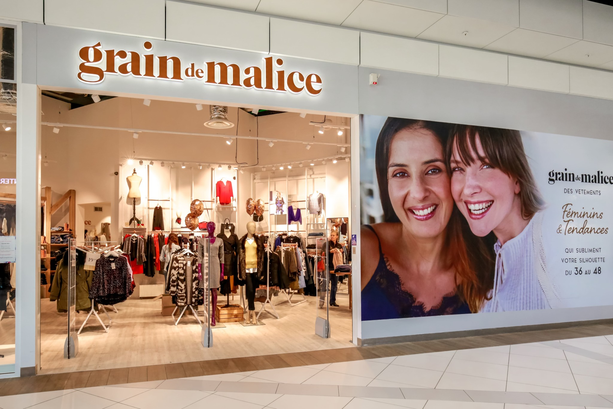 ad1f076c2a74e Grain De Malice – Centre commercial Carrefour Grand Evreux