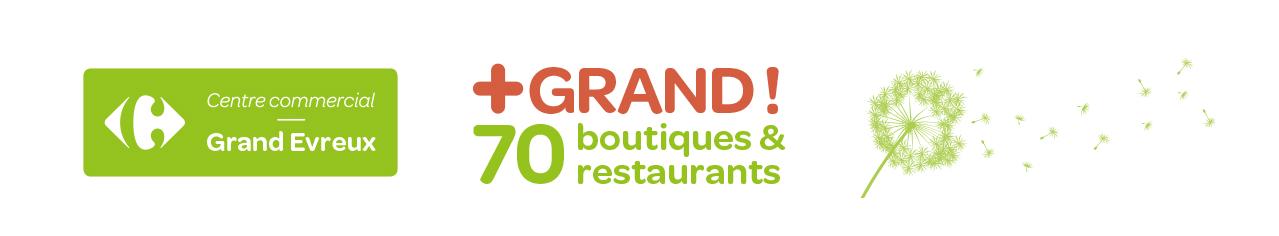 70 boutiques dans votre centre commercial Carrefour Grand Evreux 56d8b294d603